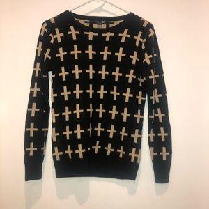 forever 22 cross sweater